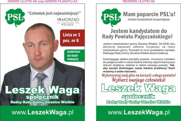 Materiały Wyborcze Ulotki Częstochowa